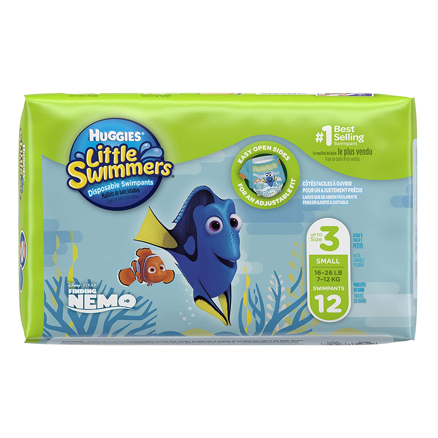 72497fc84 Huggies Little Swimmers Disposable Swim Diapers