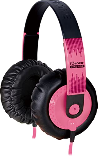 IDANCE SeDJ-800 DJ Headphones, Pink