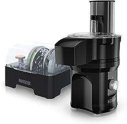 Black & Decker SL3000BC BLACK+DECKER MultiPrep Slice N Dice All-in-One Cutting Appliance, Black, SL3000BC, Black