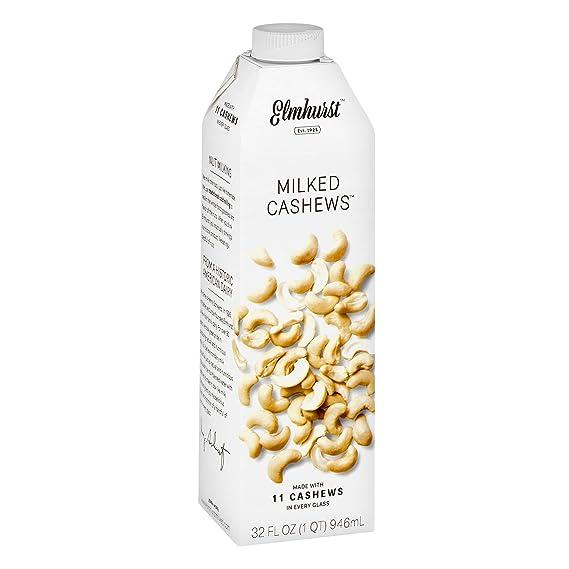 elmhurst milked anacardos 32 onzas cremoso y deliciosa leche ...