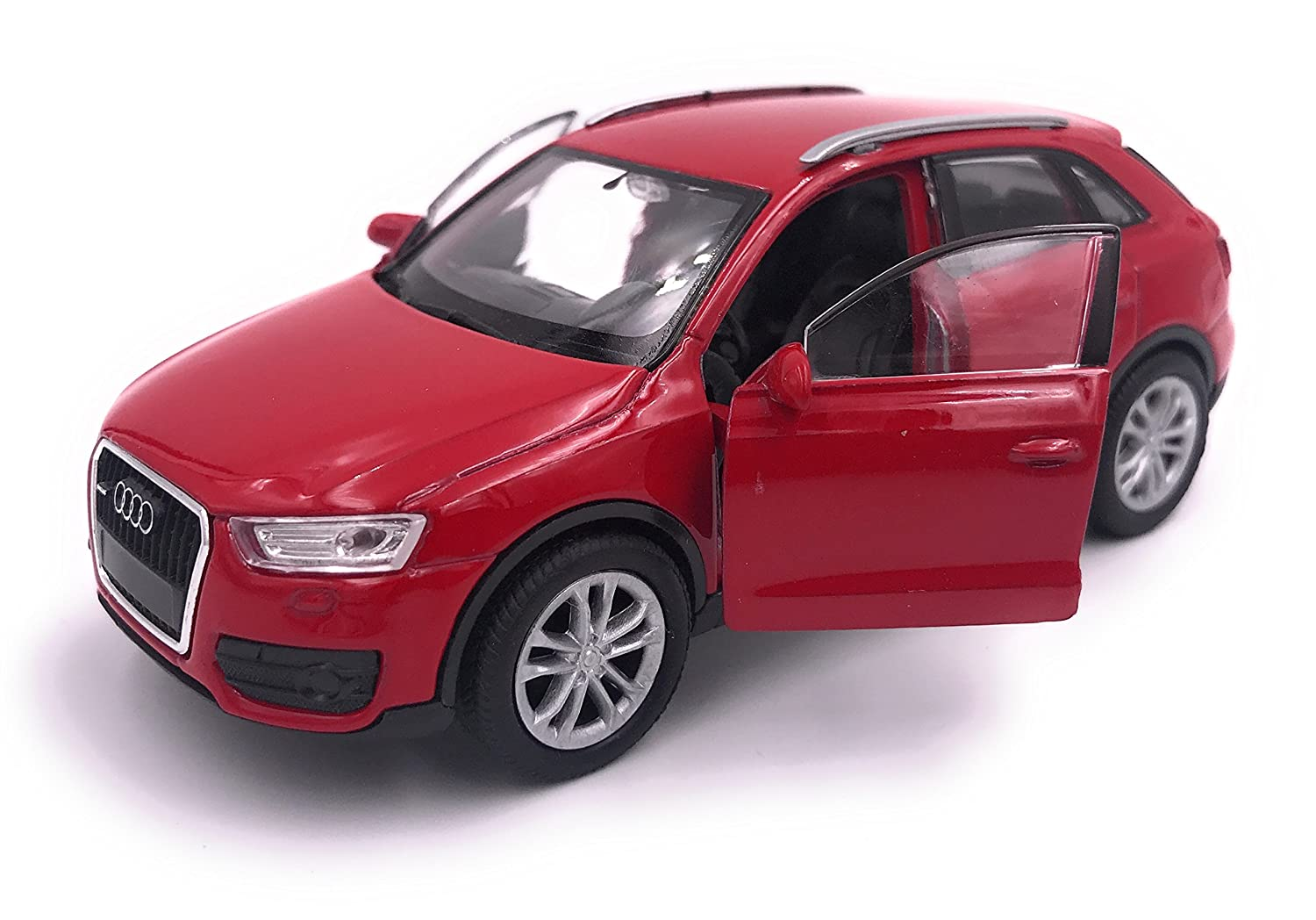 H-Customs Welly Audi Q3 Model Car Licenza Scala 1:34 Colore Casuale hcmq3blister