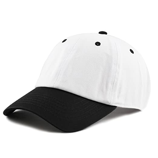 4fc773f77e6 Amazon.com  THE HAT DEPOT Unisex Blank Washed Low Profile Cotton and ...