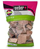 Weber-Stephen Products 17139 Apple Wood Chunks, 350 cu. in. (0.006 cubic meter)
