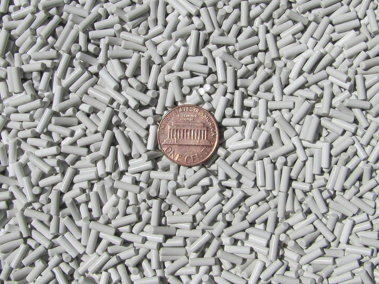 2.5 mm X 8 mm Polish Non-Abrasive Ceramic Tumbling Tumbler Tumble Media 1 Lb