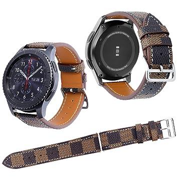 Qianyou Samsung S3 pulsera, piel para reloj de pulsera para ...