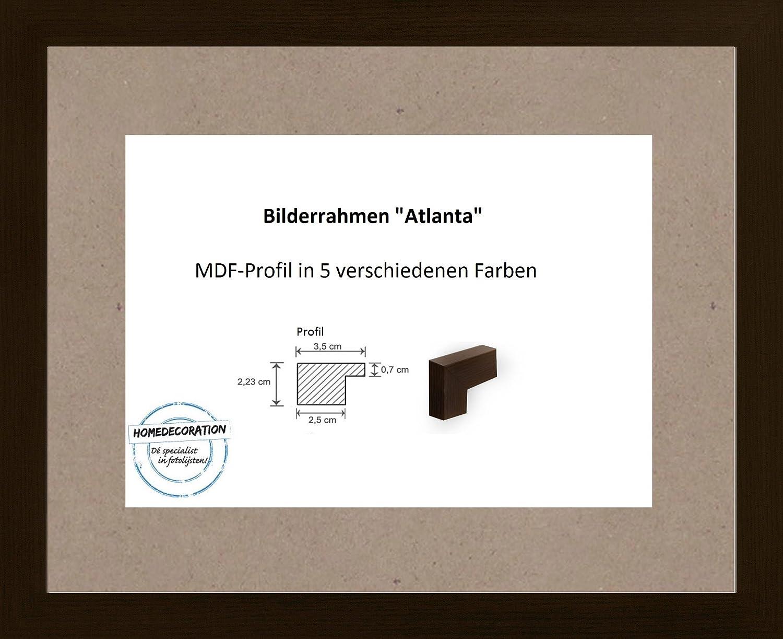Atlanta MDF Bilderrahmen stabil 28 x 38 cm ( 11 x 15 Inch ) Größen ...