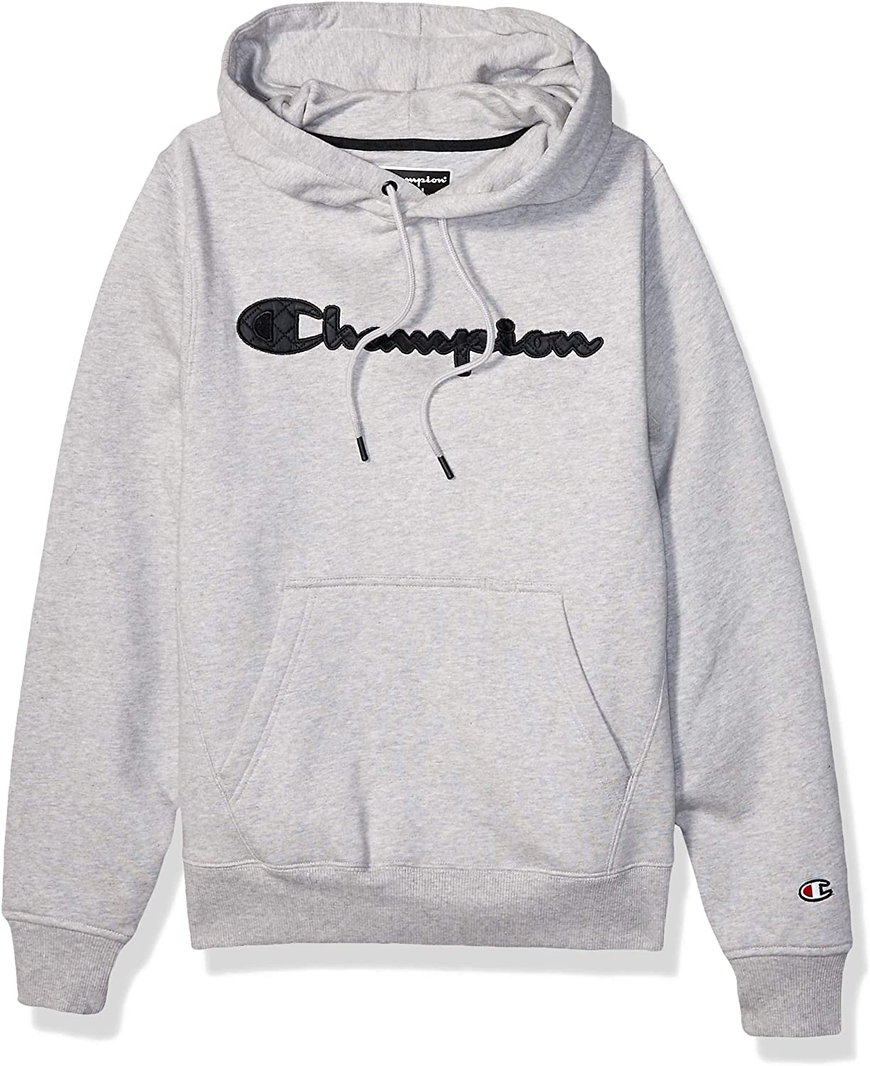 Champion LIFE Men's Champion Super Fleece 2.0 Po Hood-Quilted Script