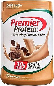 Premier Protein 100% Whey Protein Powder(Keto Friendly, No Soy Ingredients, Gluten Free), Tan, 1.49 Pound (Pack of 1), 23.9 Oz