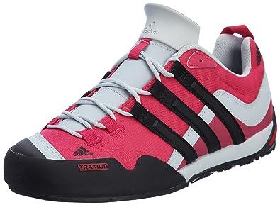 Adidas TERREX SWIFT SOLO radiant pinkclear greyblack, Größe Adidas UK: