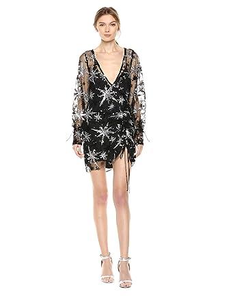 8233e0332d Amazon.com  For Love   Lemons Women s Stardust Mini Dress  Clothing