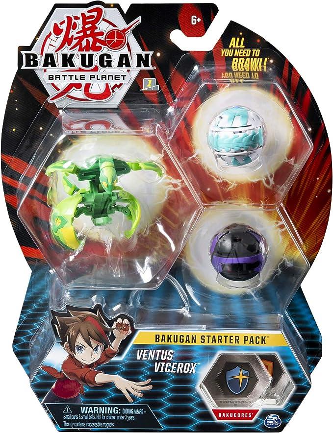 Bizak - Bakugan Starter Pack Modelos Surtidos (61924426): Amazon ...