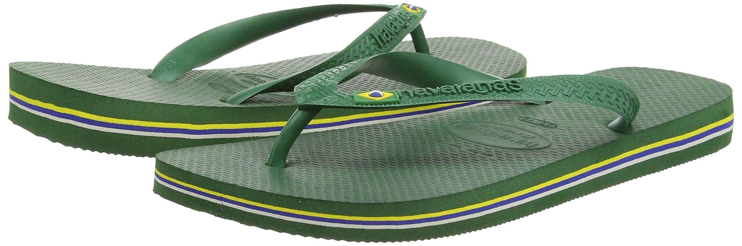 Havaianas Brasil, Unisex Adult's Flip Flops, Green (Brasil Amazonia), 3/4 UK (37/38EU) (35/36 BR) by Havaianas (Image #7)