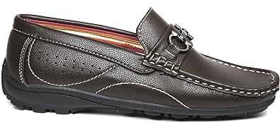 1a64e0a9d84 Steve Harvey Micah Boys Designer Fashion Sharp   Adorable Vegan Loafers  Drivers