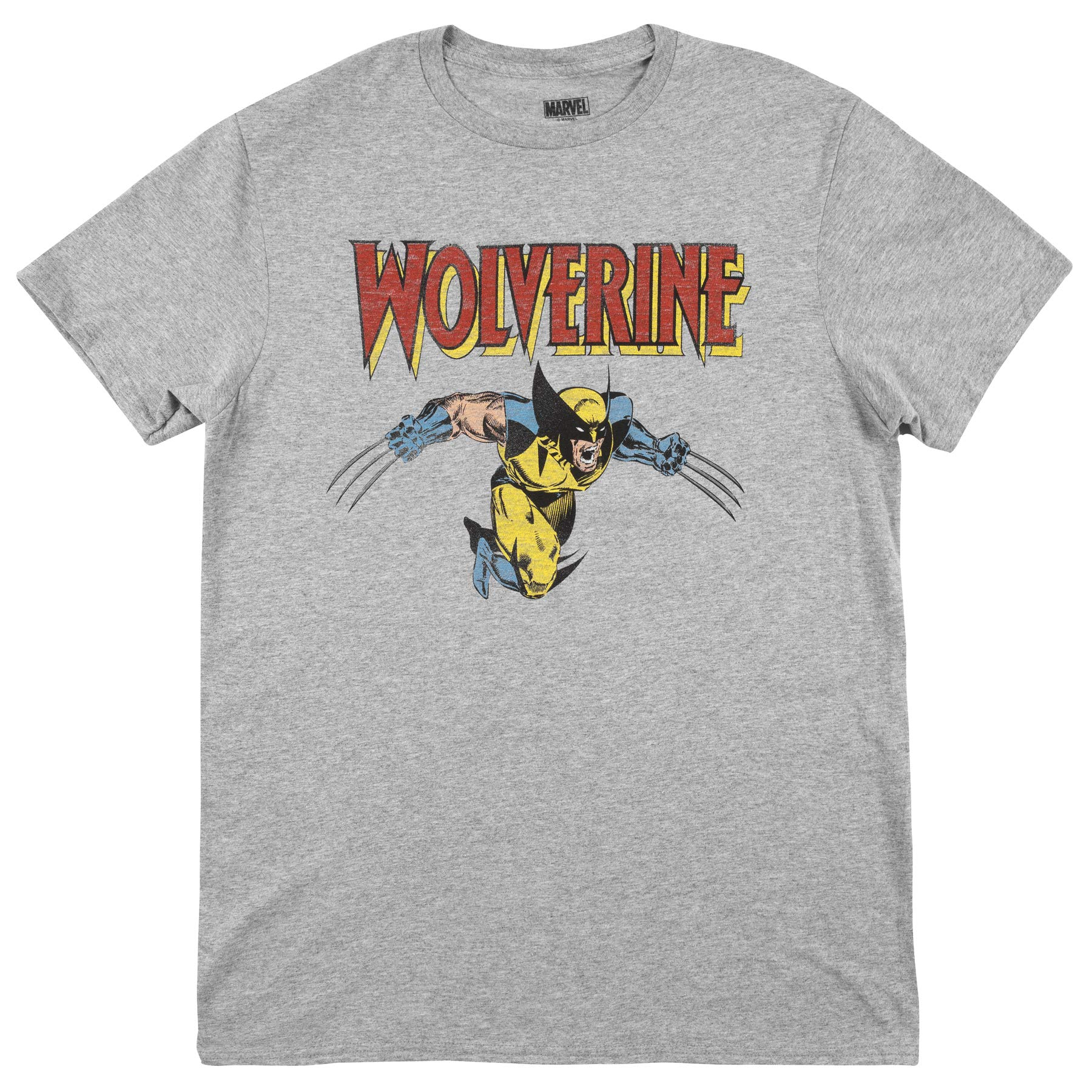 Wolverine Classic Character Logo T Shirt 1152
