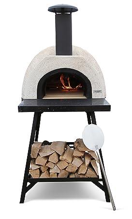Barbacoa Wild ganso Classic granito portátil Pizza horno soporte incluido: Amazon.es: Jardín