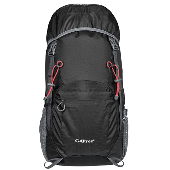 363e373311 G4Free 40L Ultra Lightweight Tear   Water Resistant Foldable Travel Hiking  Backpack  Amazon.co.uk  Luggage