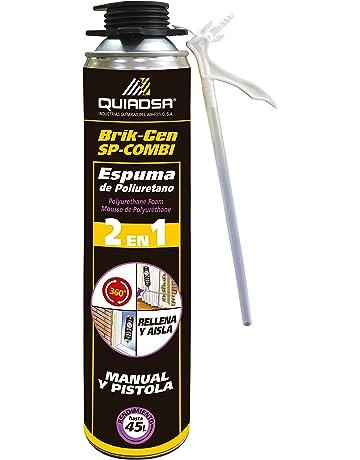 Quiadsa 53300062 Espuma de Poliuretano, 750 ml