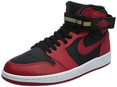 Nike Air Jordan 1 High Strap Zapatillas Baloncesto Guantes Rojo ...
