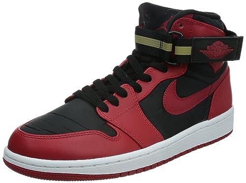 Nike Air Jordan 1 High Strap Zapatillas Baloncesto Guantes Rojo/Negro, Color, Talla EUR 45.5: Amazon.es: Zapatos y complementos