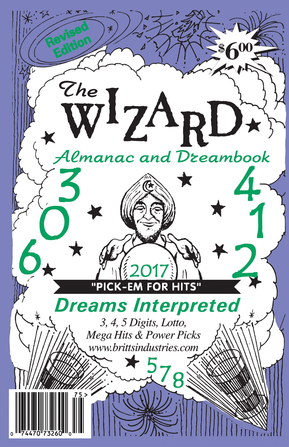 2017 Wizard Almanac & Dream Book  Lottery Book
