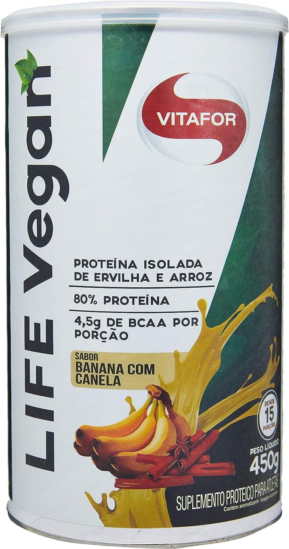 Vitafor LIFE VEGAN - 450g - Banana e Canela