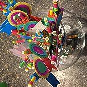 Amazon.com: Fun Express Fiesta Party Pajitas de papel – 24 ...