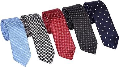 Men's Tie Floral Pattern Neckties Wedding Party Business Neck Ties Bright Color