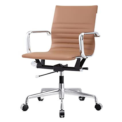 leather office chair modern. Meelano M348 Ergonomic \u0026 Stylish Executive Office Chair,Vegan Leather Desk Chair, Modern Design Chair