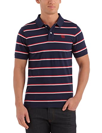 Tommy Hilfiger Palma Polo, Hombre, (Peacoat 409/Multicolor) XL ...