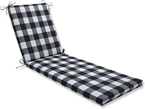 Pillow Perfect Outdoor/Indoor Anderson Matte Chaise Lounge Cushion