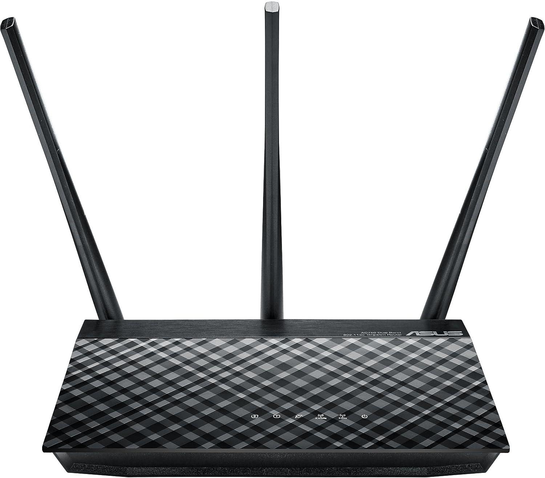ASUS RT-AC53 - Router inalámbrico AC750 Dual-Band Gigabit (Soporte VPN, 2 x Puertos GB)