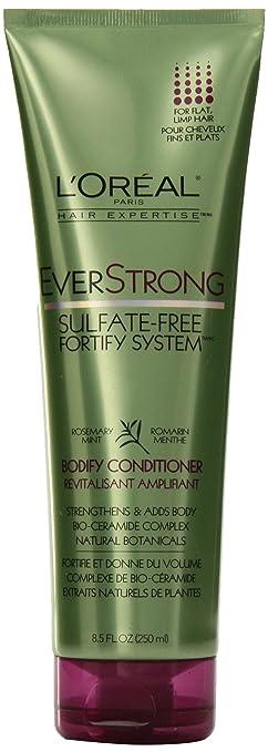 Amazon.com : L'Oreal Paris EverStrong Bodify Conditioner, 8.5 ...