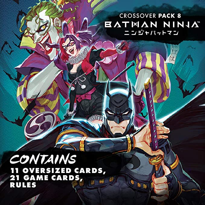Amazon Com Dc Deck Building Crossover Pack 8 Batman Ninja Based On Batman Ninja Animated Feature Five Castles Merge For Final Challenge Requires Dc Deck Building Game Base Game Toys Games