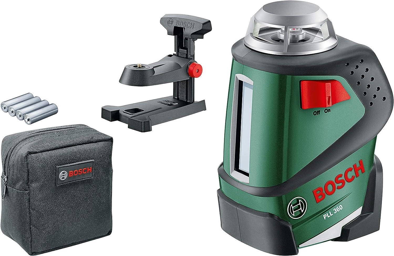 Bosch PLL 360 Laser multiligne dot/é dun outil de mesure de fonction horizontale /à 360 degr/és