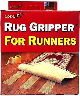 Lok Lift Rug Gripper For Runners Non Slip Tape, 4 Inch By