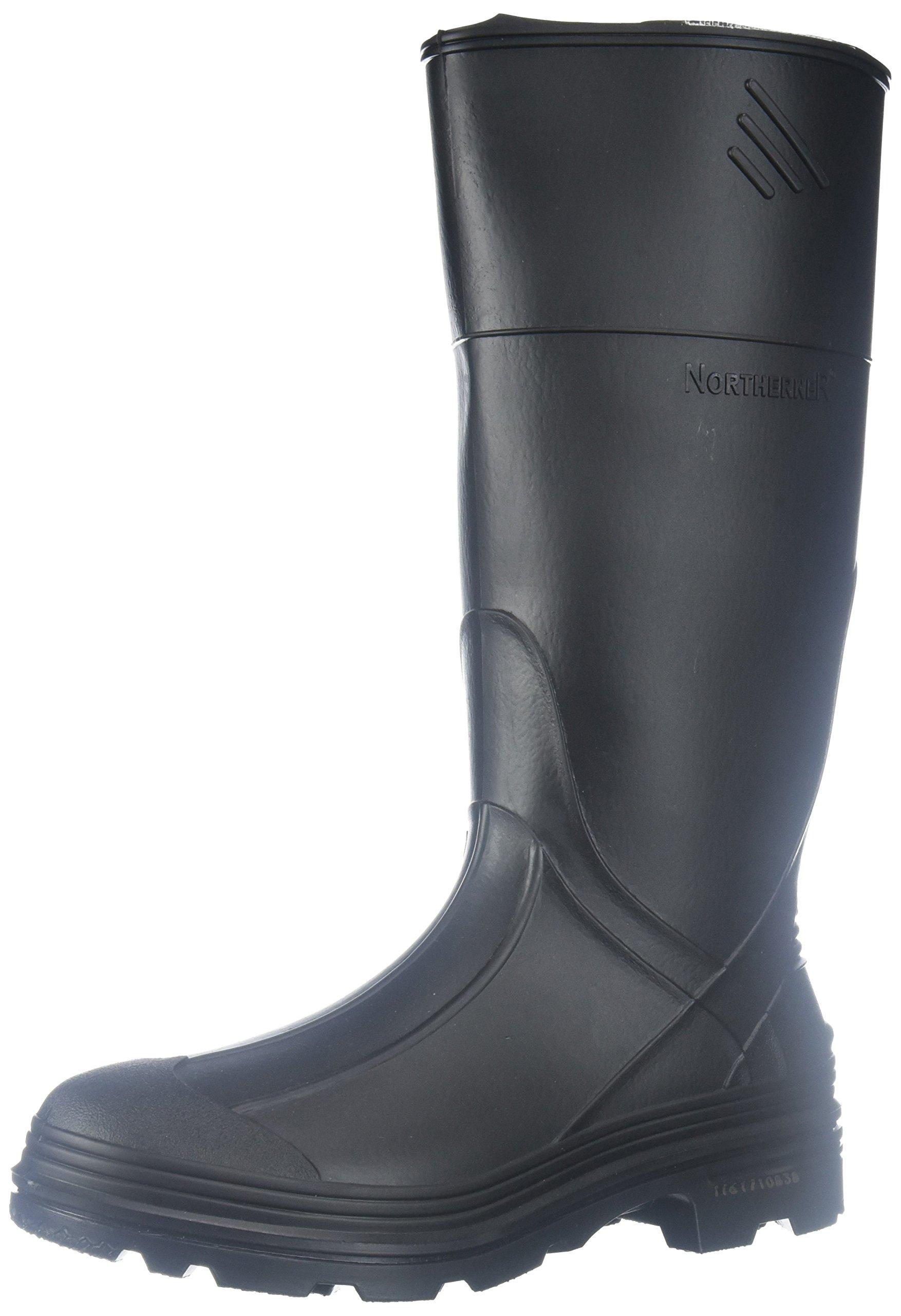 Ranger Splash Series Youths' Rain Boots, Black (76002)