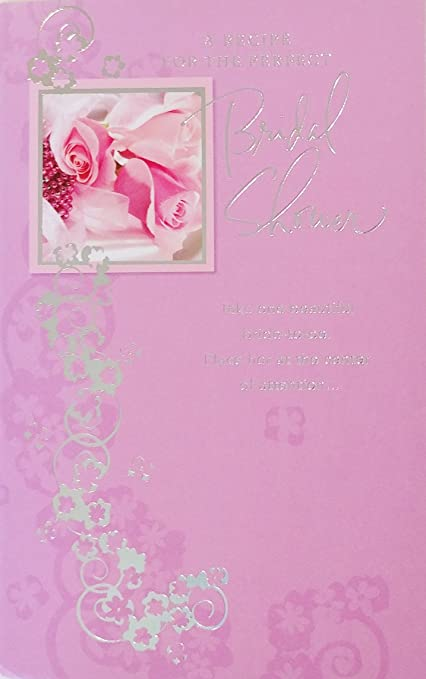recipe for the perfect bridal shower greeting card beautiful bride to