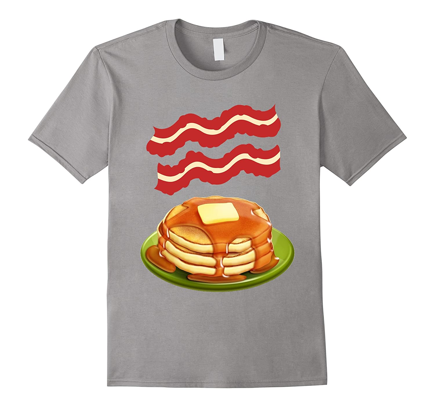cf5567aa Bacon pancakes t-shirt - Making Bacon shirt-TH - TEEHELEN