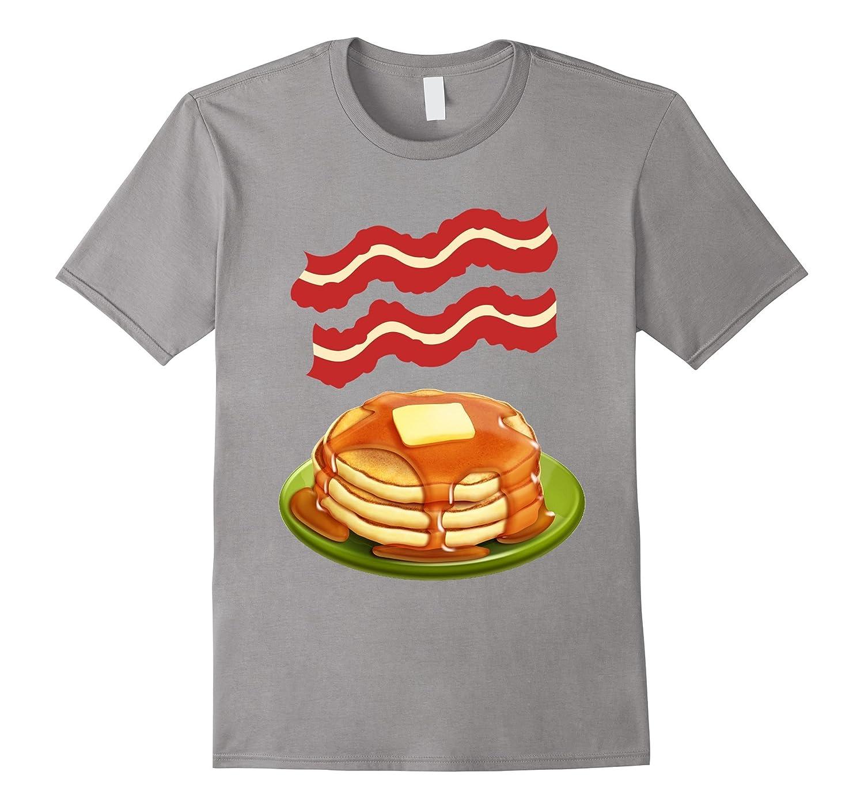 Bacon pancakes t-shirt - Making Bacon shirt-TH