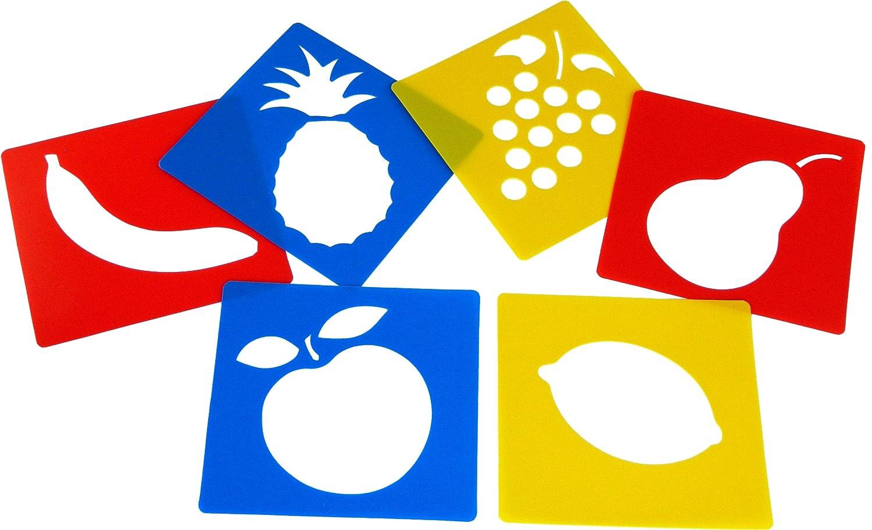 Anthony Peters - Stampi, motivo frutta (set da 6)