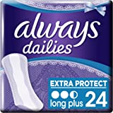 Always Protège-Slips Long Plus x 24 Lot de 2