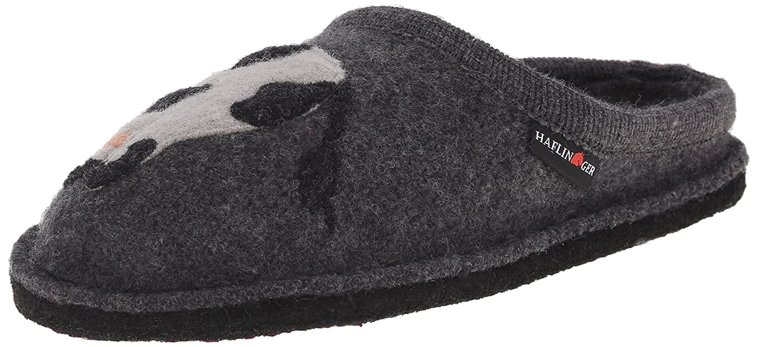 Haflinger Women's Molly Flat B00U1TN1CE 40 M EU / 9 B(M) US|Grey