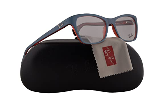 04a1dacb5c Ray Ban RX5298 Eyeglasses 53-17-135 Top Matte Oil Blue On ...