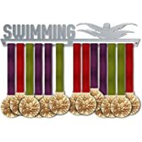 Swimming Medal Hanger Display | Sports Medal Hangers | Stainless Steel Medal Display | by VictoryHangers - The Best Gift For Champions !