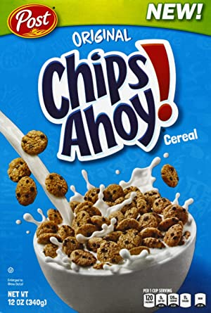 Oferta amazon: POST CHIPS AHOY CEREALES, 340GR