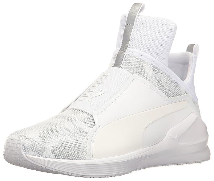 Zapato de entrenamiento cruzado met¨¢lico Fierce para mujer, Puma Black, 5.5 M US