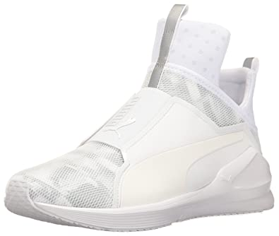 PUMA Women s Fierce Swan WN s Cross-Trainer Shoe White 23649e7d1