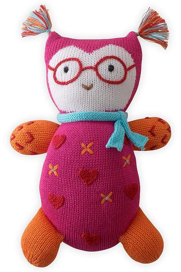 Joobles Fair Trade Organic Stuffed Animal - Jody the Owl