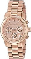 Michael Kors Women's Runway Rose Gold-Tone Watch MK5128