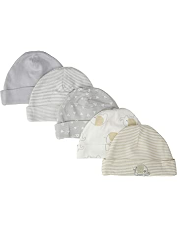1d440c4b396 Gerber Baby Girls  5-Pack Caps